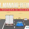 INFOGRAFIK: Mengenal Tol Manado-Bitung, Tol Pertama di Sulawesi