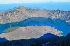 FOTO: 6 Foto Gunung Rinjani, Salah Satu Gunung Tertinggi di Indonesia