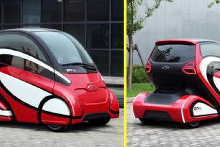 Mobil ini hasil kolaborasi GM dengan SAIC di Shanghai, China.