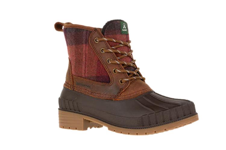 Kamik Womens Sienna Mid Winter Boots - Dark Brown