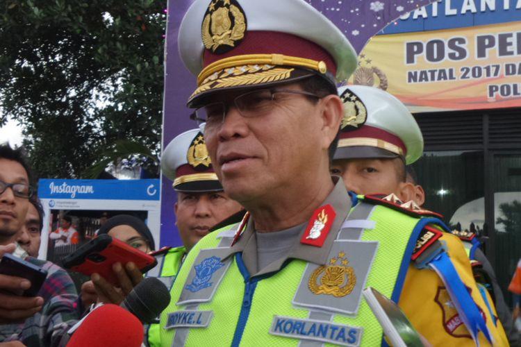 Kepala Korps Lalu Lintas Polri Irjen Royke Lumowa.