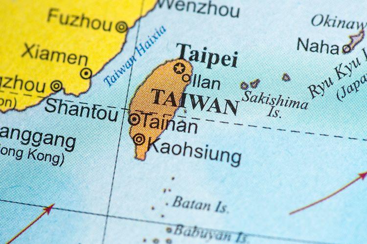 Peta Taiwan.