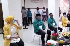 Airin Rachmi Diany Menemani Wakil dan Ponakannya Daftar Pilkada ke KPU Tangsel