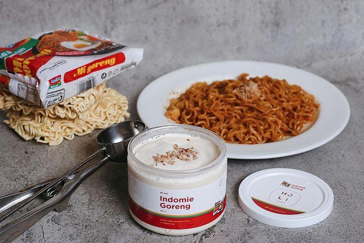 Es Krim rasa Indomie Goreng dari Holi Ice Cream