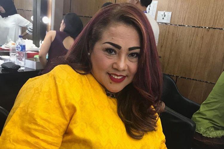 Komedian Tri Retno Prayudati alias Nunung.