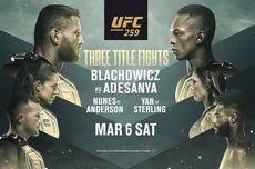 Jadwal UFC 259 Blachowicz Vs Adesanya, Minggu Pagi WIB