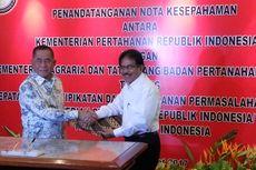 Kemhan dan Kementerian ATR Percepat Sertifikasi Aset Ribuan Hektar Tanah