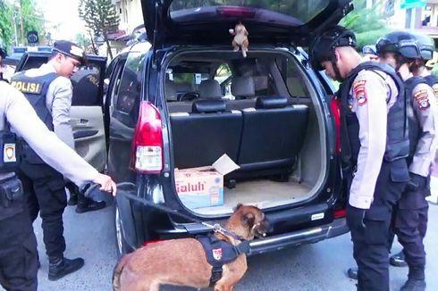 Pasca Bom Bunuh Diri di Medan, Polda Kalsel Perketat Penjagaan, Anjing Pelacak Diterjunkan