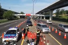 Arus Balik Macet, Contraflow Diberlakukan di KM 61-47 Tol Japek Arah Jakarta