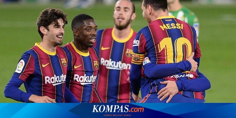 Prediksi Susunan Pemain Dan Link Live Streaming Barcelona Vs Psg Halaman All Kompas Com
