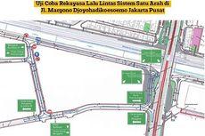 Mekanisme Uji Coba Rekayasa Lalin Satu Arah di Jakarta Pusat