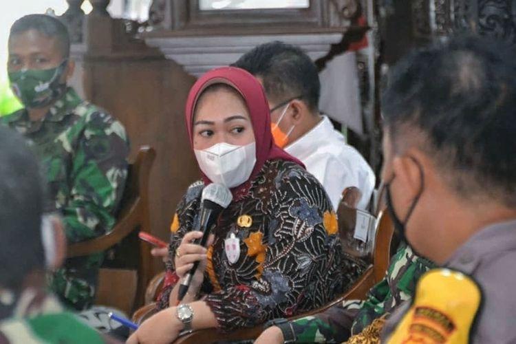 Bupati Purbalingga, Dyah Hayuning Pratiwi.