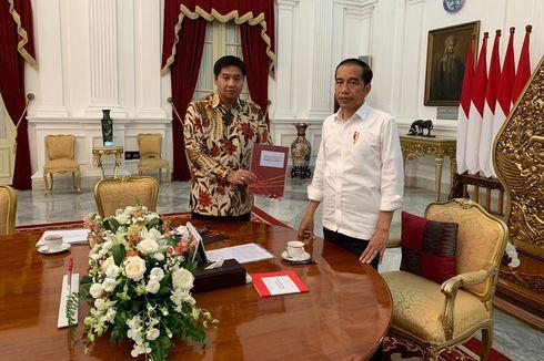 Presiden Jokowi Terima Hasil Audit Piala Presiden Bola Basket 2019