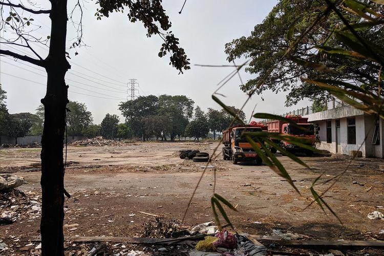 Hingga Kamis (27/6/2010) ini belum ada pengerjaan di proyek ITF Sunter di Jakarta Utara setelah groundbreaking atau peletakan batu pertama yang dilakukan Pemprov DKI Jakarta pada Desember tahun Lalu.