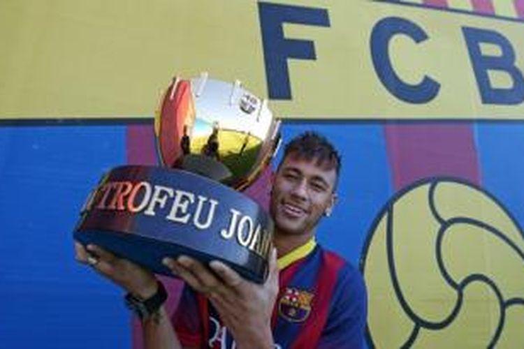 Gelandang Barcelona, Neymar da Silva.