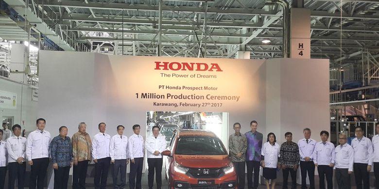 HPM berhasil capai produksi 1 juta unit di Indonesia.