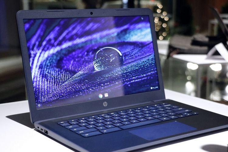 HP Chromebook 14 yang ditenagai prosesor AMD