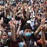Kenapa Demonstran Thailand Pakai Salam 3 Jari Hunger Games? Ini Ceritanya...