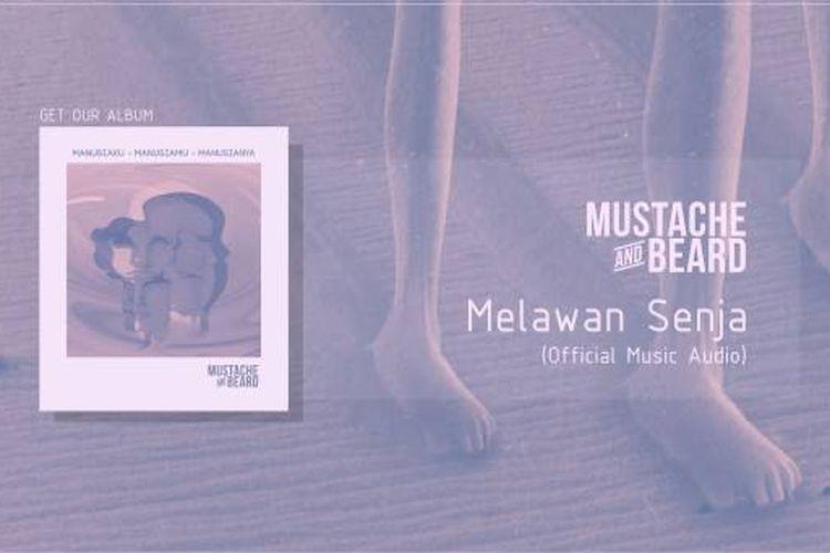 Thumbnail YouTube Mustache and Beard - Melawan Senja