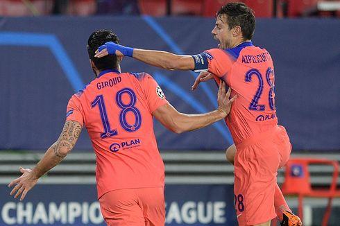 Giroud Cetak Quattrick di Liga Champions, Lampard Masih Ragu