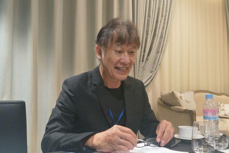 Pendiri dan Ketua Yayasan Pemerhati Kesehatan Publik (YPKP) Indonesia Achmad Syawqie Yazid dI sela-sela AHRF ke-3 di Seoul, Korea Selatan, Kamis (29/8/2019)