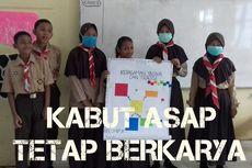 Tembus Kabut Asap, SMPN Tanjung Jebung Timur Belajar Rajut Nusantara