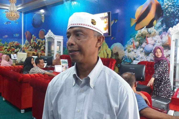 General Manager Silver Silk Tour & Travel Pekanbaru, Zamzamin saat diwawancarai Kompas.com terkait ditundanya keberangkatan calon jemaah umrah, karena virus corona, Jumat (28/2/2020).