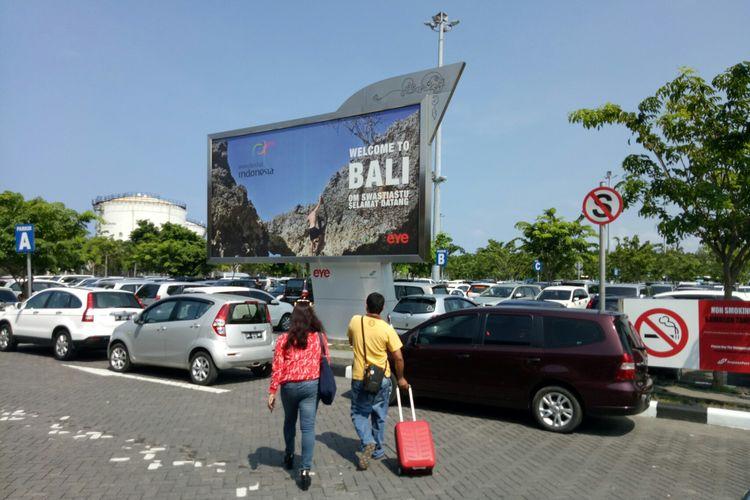 Ilustrasi parkir mobil Bandara I Gusti Ngurah Rai Bali