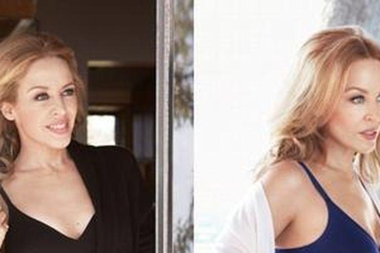 Dalam sesi foto untuk label pakaian dalam Sloggi, Kylie Minogue berpose mengenakan pakaian dalam dengan desain klasik nan elegan.
