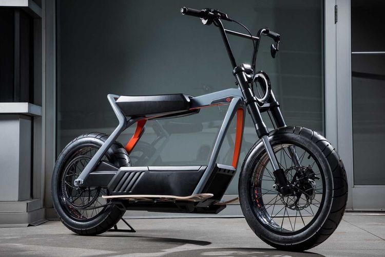 Skuter listrik konsep dari Harley-Davidson