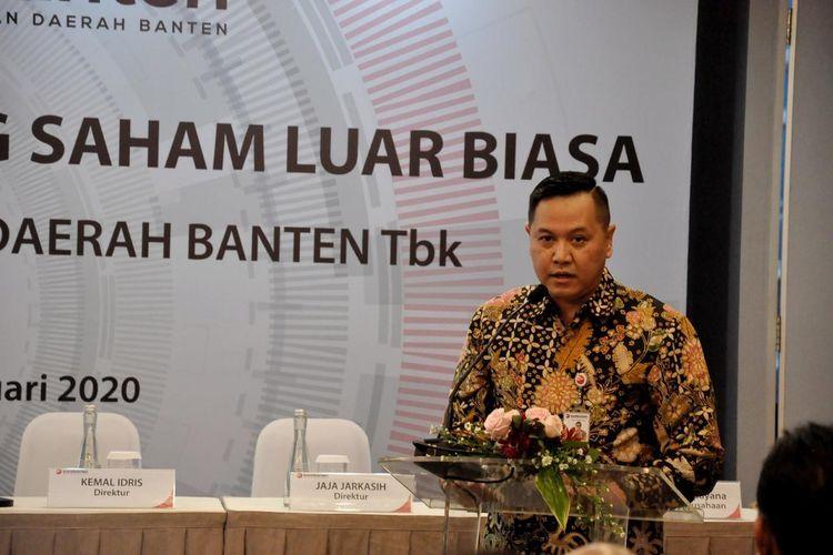 Dirut Bank Banten Fahmi Bagus Mahesa