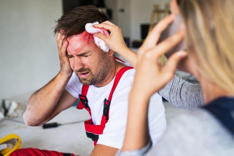 Ilustrasi Cedera Kepala