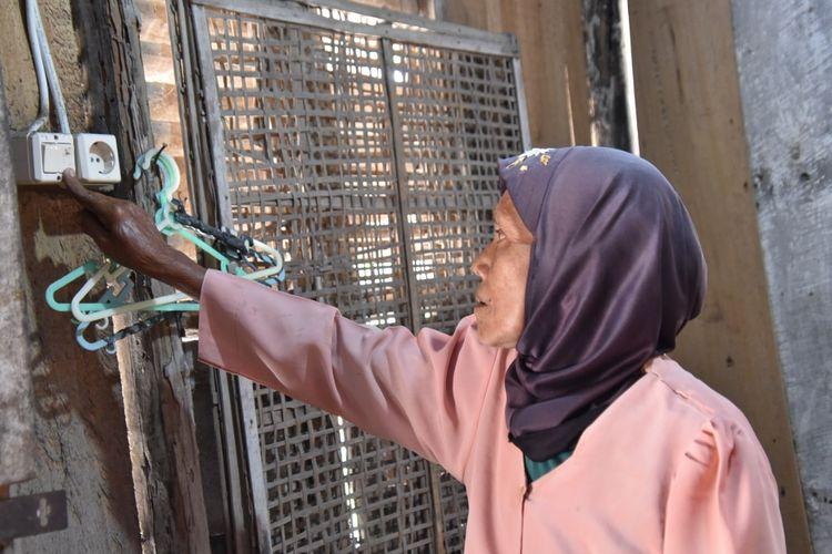 Penerima bantuan listrik gratis dari Pemprov Jateng.