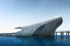 Lucu, Observatorium Laut di Australia Ini Mirip Ikan Paus Raksasa
