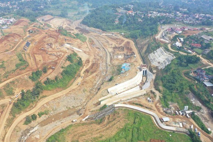 Bendungan Kering (Dry dam) Sukamahi dan Ciawi di Jawa Barat