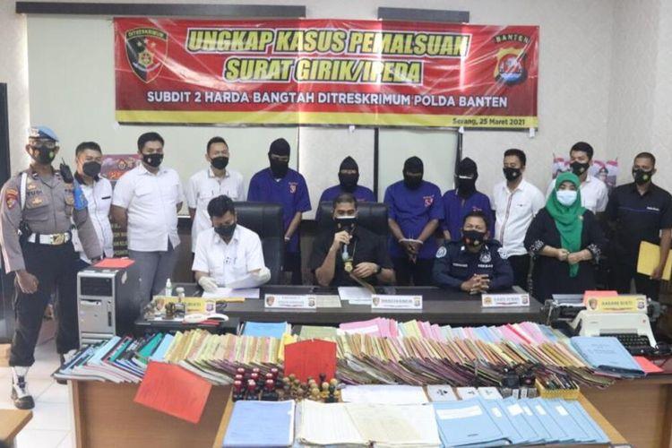 Empat tersangka mafia tanah modus penipuan dan pemalsuan girik