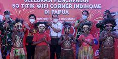 Terus Tingkatkan Layanan, Indihome Bangun 50 WiFi.id Corner di Papua