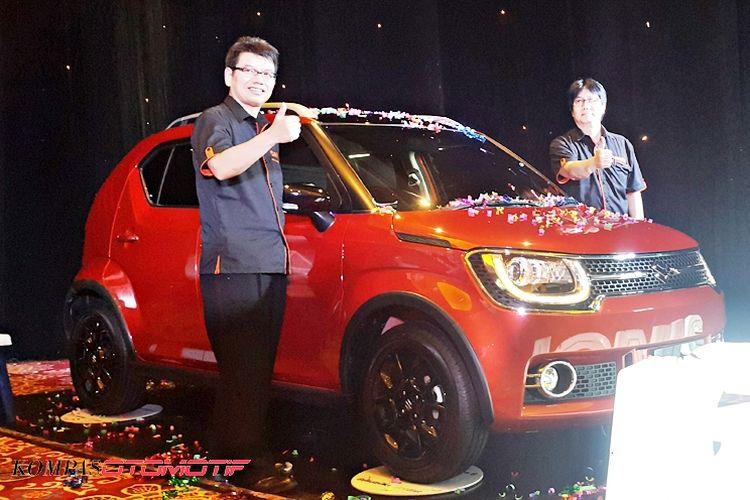 Peluncuran Suzuki Ignis di Jakarta