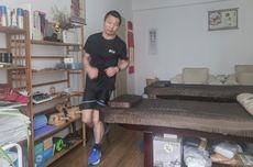 Pelari Ini Bakal Berlari 100 Km jika China Bebas Virus Corona