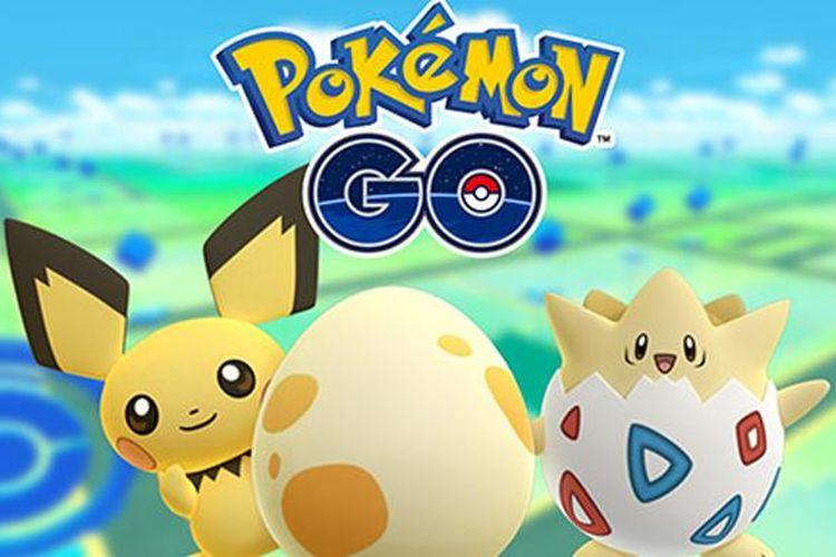 Pichu dan Togepi sudah bisa diperoleh di Pokemon Go