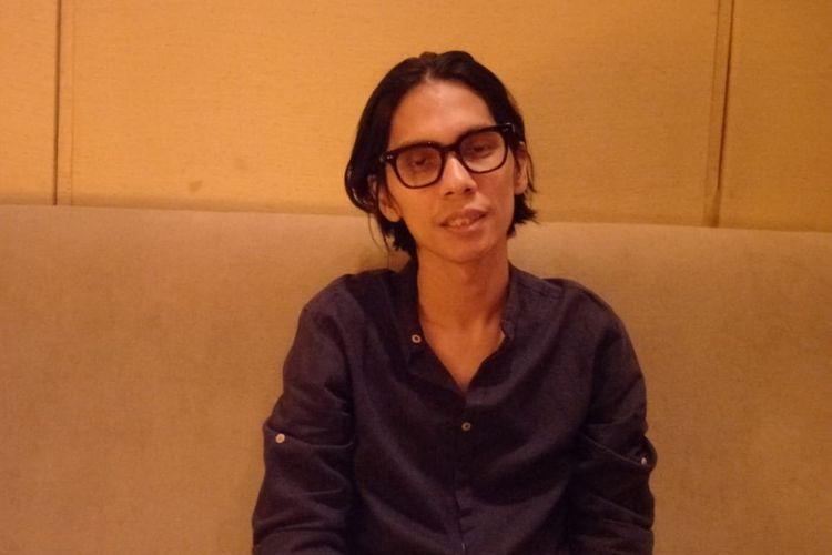Angga Dwimas Sasongko saat ditemui di Plaza Senayan, Jakarta Pusat, Kamis (2/1/2020).
