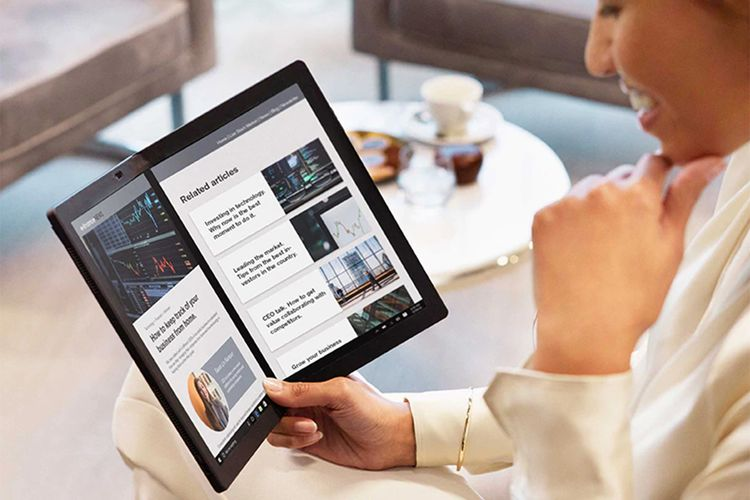 Laptop layar lipat Lenovo ThinkPad X1 Fold
