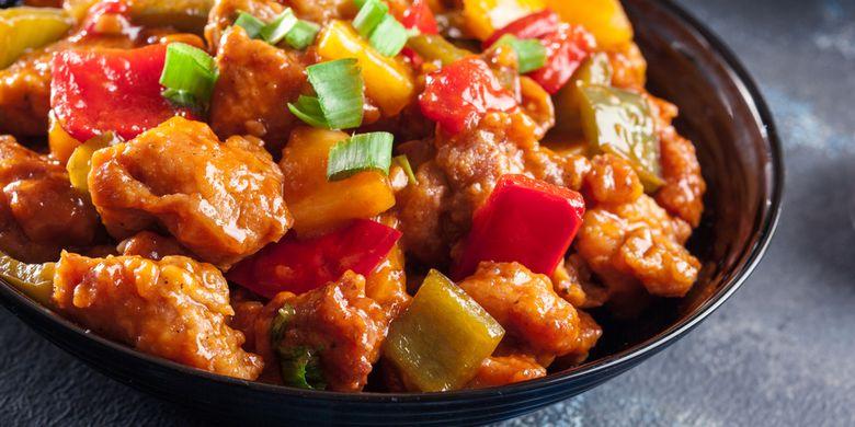 Resep Ayam Asam Manis, Masakan Chinese Food