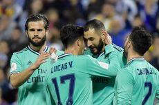 Real Zaragoza Vs Real Madrid, Los Blancos ke 8 Besar Copa del Rey