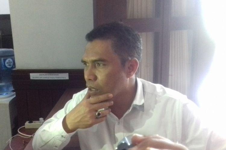 Ketua DPRD Kota Malang, Abd Hakim saat ditemui di Kantor DPRD Kota Malang, Senin (5/2/2018).