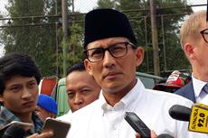 Sandiaga Sepakat dengan Prasetio, WTP Pemprov DKI karena Jokowi-Ahok-Djarot