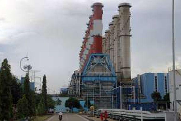 Pembangkit Listrik Tenaga Gas dan Uap (PLTGU) Gresik, Jawa Timur.