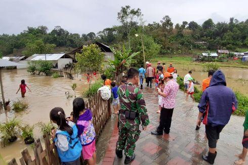 Puluhan Rumah Warga di Minahasa Terdampak Banjir Luapan Sungai
