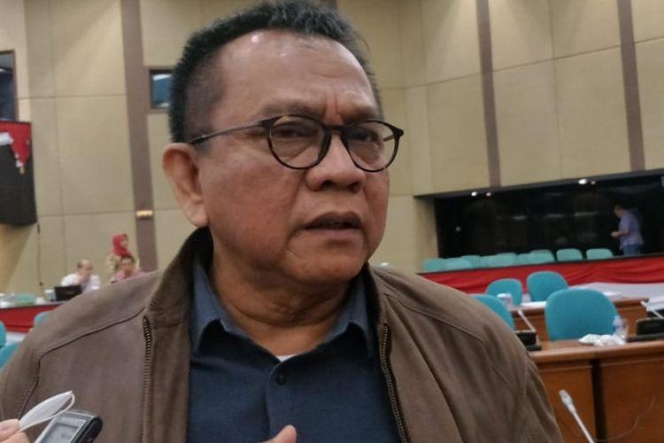Wakil Ketua Badan Anggaran DPRD DKI Jakarta Mohamad Taufik di Gedung DPRD DKI Jakarta, Jakarta Pusat, Kamis (13/9/2018).
