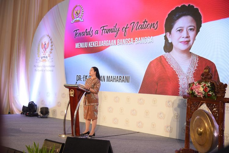 Ketua DPR RI Puan Maharani dalam salah satu kesempatan.